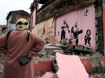 An endangered Istanbul neighborhood, photo by Yigal Schleifer
