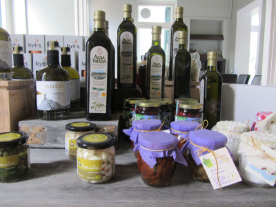 The Gastronomy Museum's gift shop offerings, photo by Diana Farr Louis