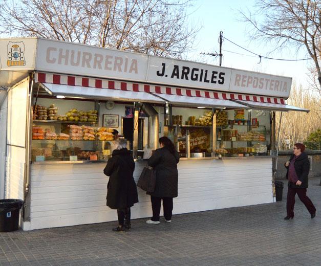 Churreria J. Argiles, a Barcelona institution, photo by Paula Mourenza