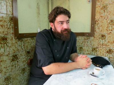 La Barraqueta-Resolís's chef, Jordi Aldeguer, photo by Mireia Font