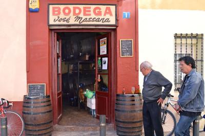 Bodega Massana, photo by Paula Mourenza
