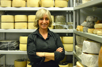 Eva Vila of La Teca de Vila Viniteca, photo by Paula Mourenza