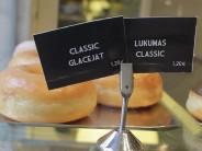 Doughnuts at Lukumas, photo by Hollis Duncan
