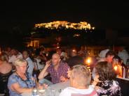 Café Avissinia's terrace is still packing them in, photo by Diana Farr Louis