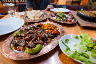 Gaziantep Restaurant in Demre, photo by Theodore Charles