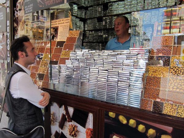 Beyoğlu Çikolatacısı, photo by Ansel Mullins