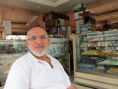 İdris Beğiroğlu of Baltepe, photo by Ansel Mullins
