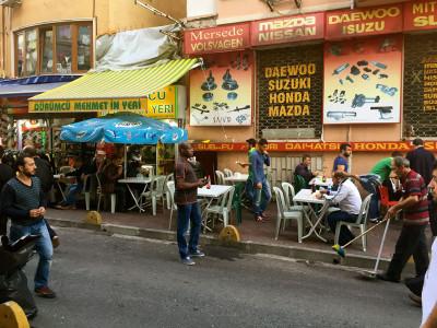 Dürümcu Mehmet'in Yeri, photo by Paul Osterlund
