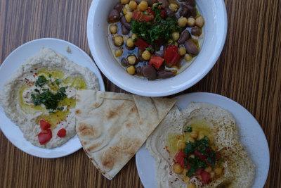 Farrooj al Zaeem's Syrian specialties, photo by Ansel Mullins