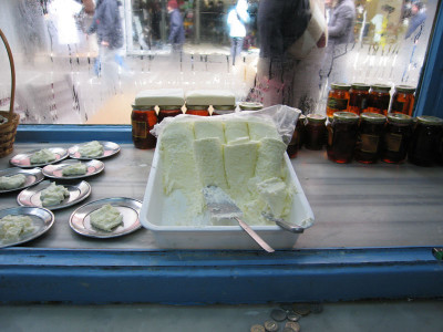 Kaymak, photo by Yigal Schleifer