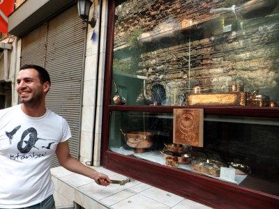 Handmade Copper Pots In Istanbul S Grand Bazaar Culinary