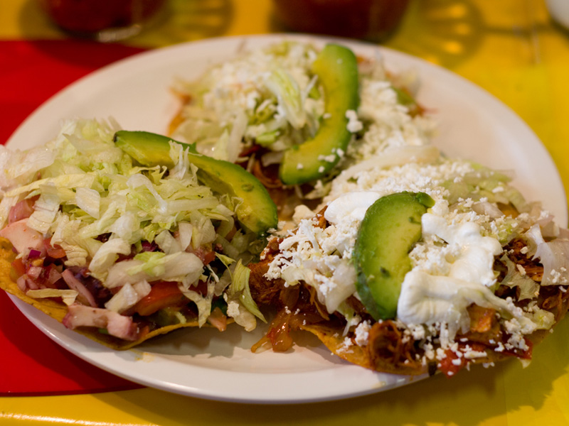 salad tostada recipe quick chicken tostadas whole chicken tostadas