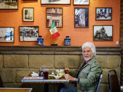 Javier, one of Beatricita's longtime customers, photo by PJ Rountree