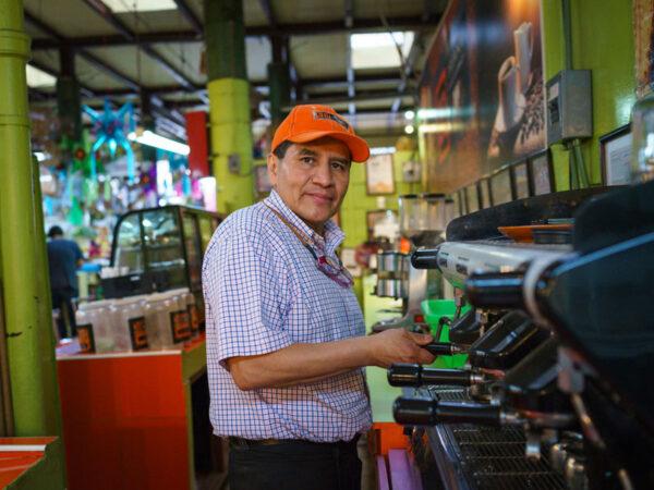 Café Triana in the Mercado San Juan Pugibet, photo by PJ Rountree