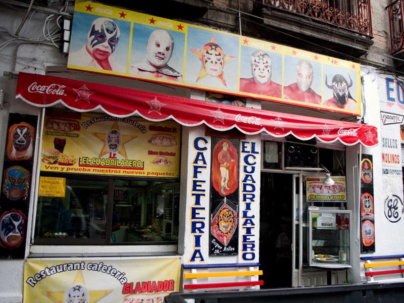 Cafetería El Cuadrilátero, photo by Ben Herrera