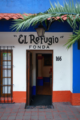 Fonda El Refugio, photo by PJ Rountree