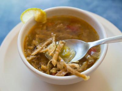 Máare's sopa de lima, photo by PJ Rountree