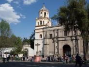 San Juan Bautista in Plaza Hidalgo, Coyoacán.