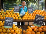 Fruit vendor in Rio, photo by Jimmy Chalk