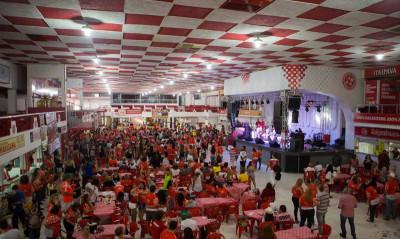 Salgueirense Samba School's feijoada party, photo courtesy of Salgueirense