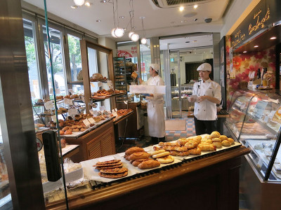 Café Sakura's French patisserie, photo by Fran Kuzui