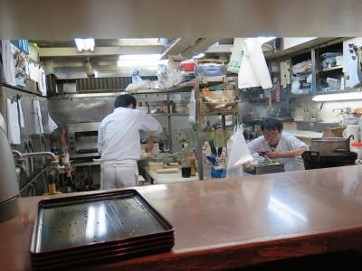 Chanko Dojo's kitchen, photo by Fran Kuzui
