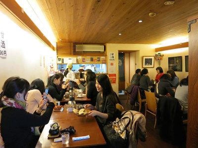 Naniwa Café, photo by Fran Kuzui