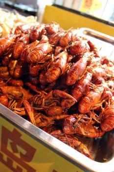 Shouning Lu crayfish, photo by UnTour Shanghai